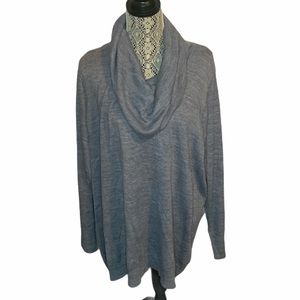 Lily Morgan Cowl Neck Pullover Sweater Size 3XL